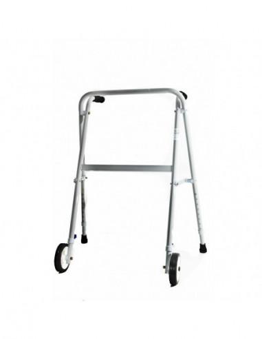Andador plegable tijera C/ruedas