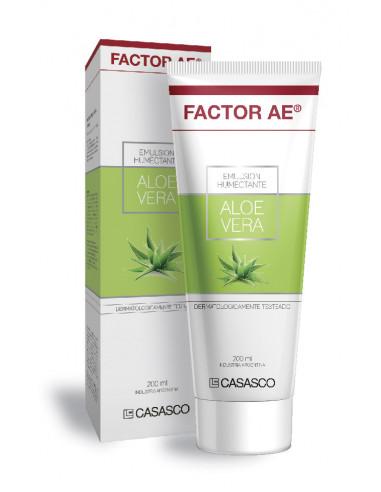 Factor AE áloe vera Vitaminas A y E...